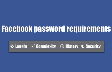 Background password requirements
