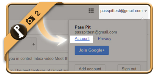 change gmail password 2
