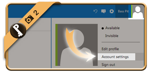 change hotmail password 2