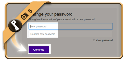 change yahoo password 5