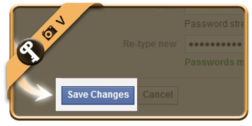 facebook change password 5