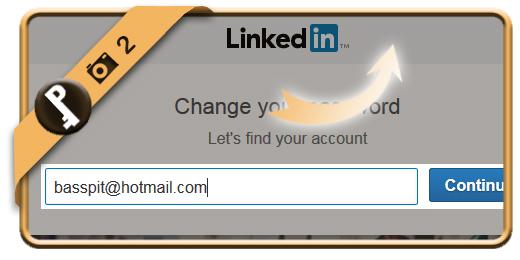 forgot linkedin password 2