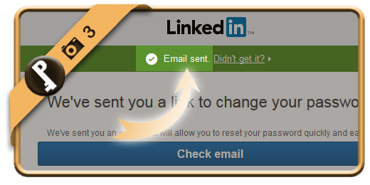 forgot linkedin password 3