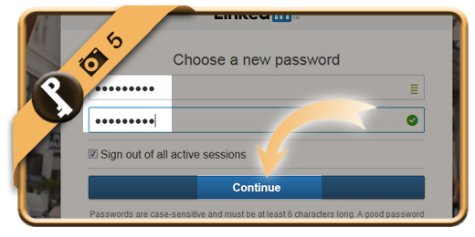 forgot linkedin password 5