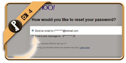 forgot yahoo password 4