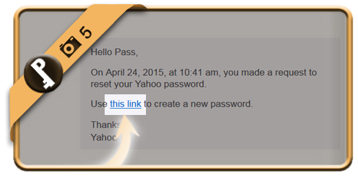 forgot yahoo password 5