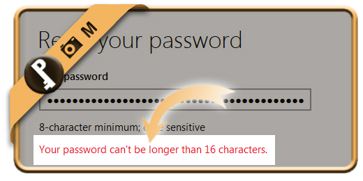 hotmail password maximum