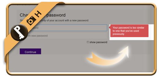 yahoo history password