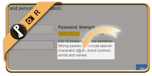 aol complexity password