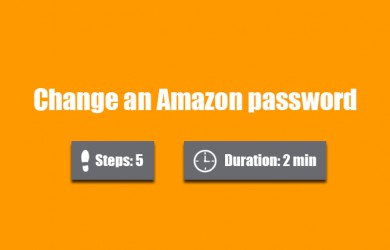change amazon password 0