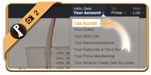 change amazon password 2