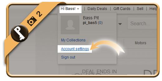 change ebay password 2
