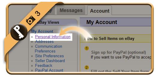 change ebay password 3