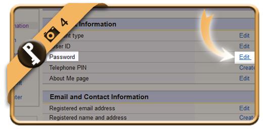 change ebay password 4