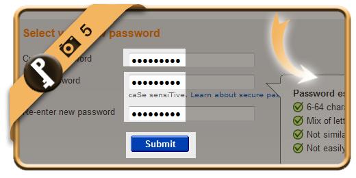 change ebay password 5