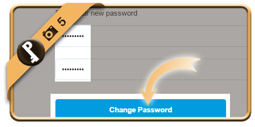 change paypal password 5