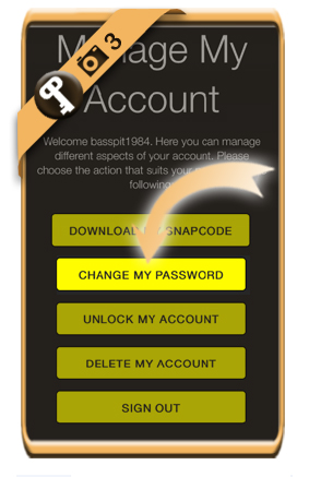change snapchat password 3