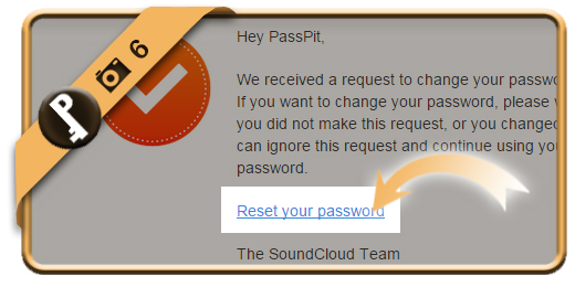 change soundcloud password 6