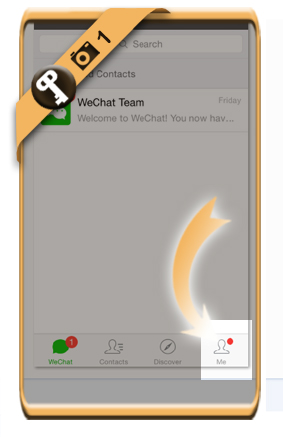 change wechat password 1