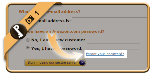 how to find password for my email