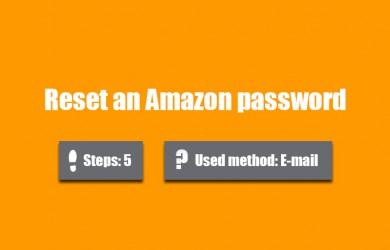 forgot amazon password