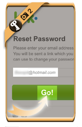 Reset my kik password