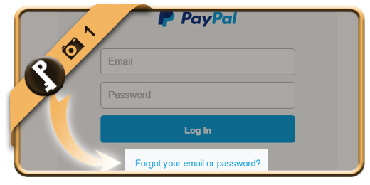forgot paypal password 1