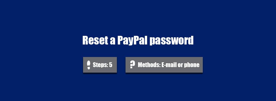 paypal password ändern