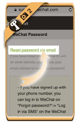 forgot wechat password 2