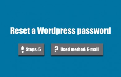 forgot wordpress password 0