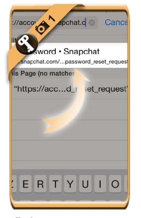 reset snapchat password 1