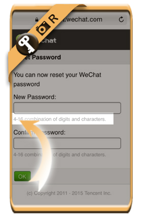 wechat maximum password
