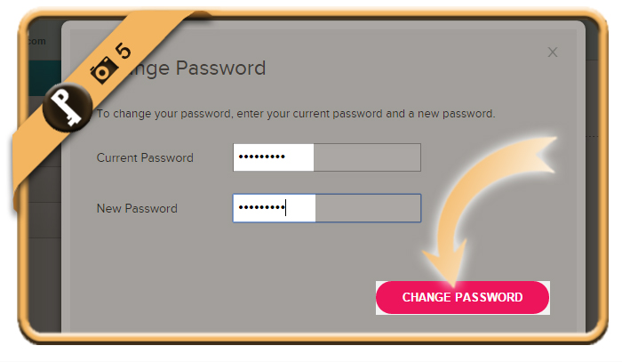 change fitbit password 5
