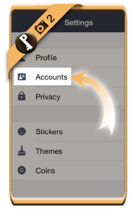 change line password 2