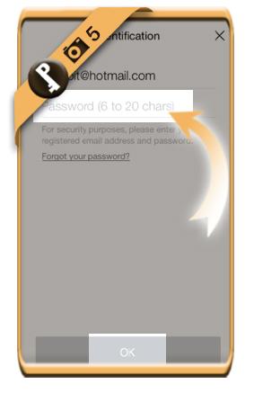 change line password 5