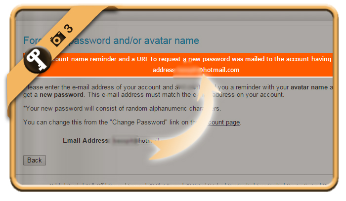 how to change your password on imvu