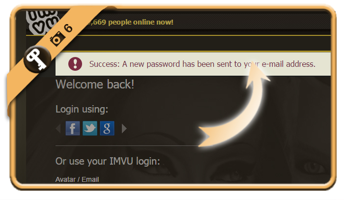 forgot imvu password 6
