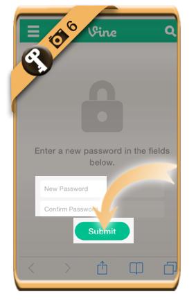 forgot vine password 6