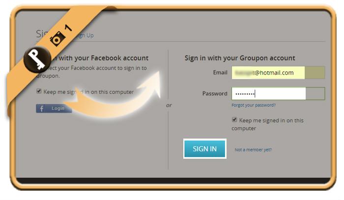 change groupon password 1