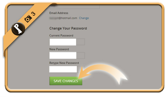 change groupon password 3