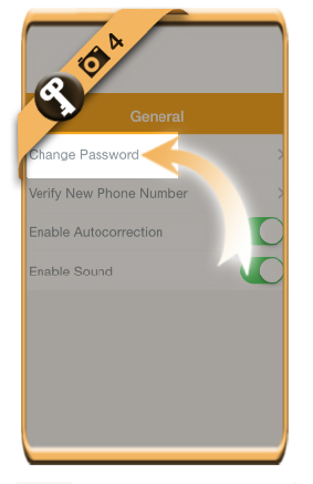 change oovoo password 4