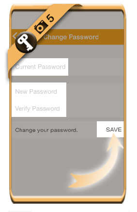 tmngo how to change password