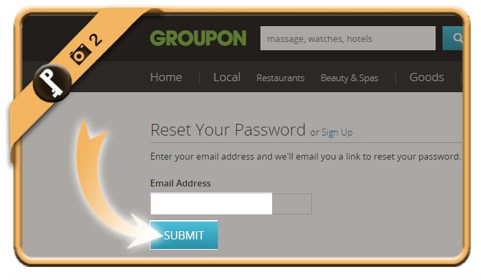 forgot groupon password 2