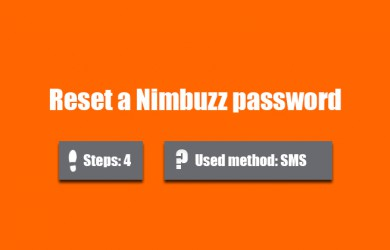 forgot nimbuzz password 0