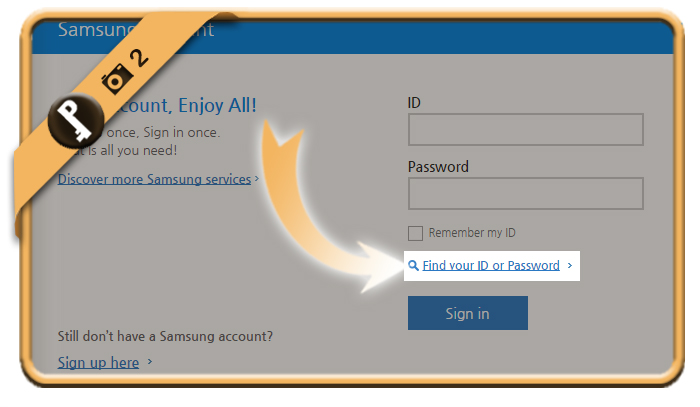 forgot samsung password 2