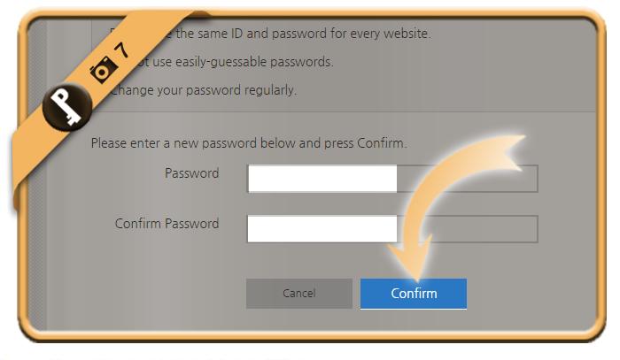 forgot samsung password 7