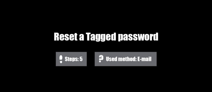forgot tagged password 0