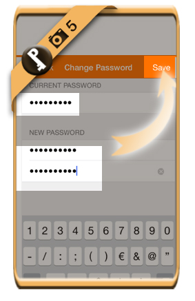 nimbuzz change password 5